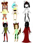 Adventure Time Adoptables (50-150 Points) by Lovepiko