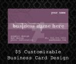 Customizable Business Cards - 06