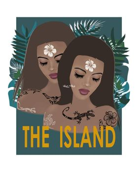 THE ISLAND . with text by Vic4U