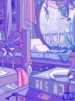 Nelly's Bedroom by coconutmoose