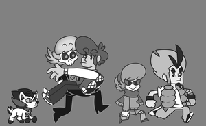 1957 Mystery Skulls by Mannievelous