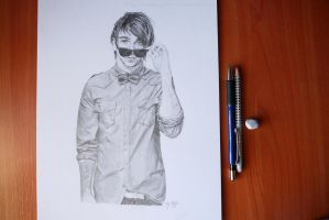 Alex Gaskarth II by mrsxbenzedrine