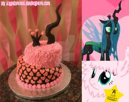 Fluffle and Chryssi Cake by AngelSamui