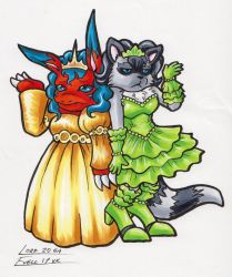 .com Going to the ball by Lord-Evell