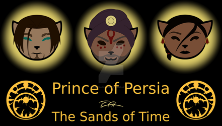 Prince of Persia - Sands of Time - Kittyfied by oOCreaFilyaOo