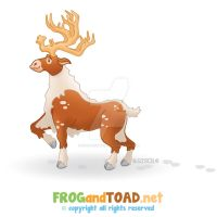 Renne - Reindeer FROGandTOAD by FROG-and-TOAD
