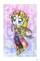 Chibi Zelda: Hyrule Warrior by lillilotus