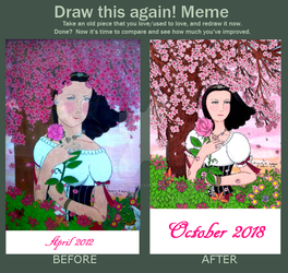 Draw It Again! Meme: Rosa by LuckyNumber113