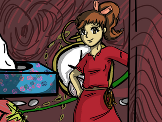 13 Days of Ghibli, Day 3: Arrietty by Devious-dolly