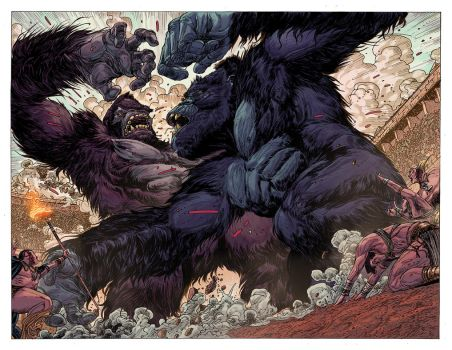 Kong of Skull Island_Test Page 02 by BryanValenza