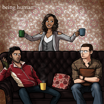 All Zen and Shit - Being Human by Girl-on-the-Moon