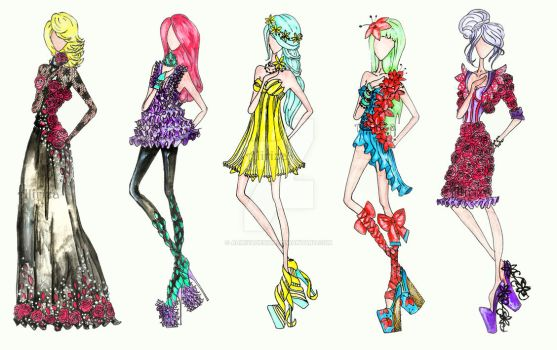 Flower Fashion by AlirizaDesign