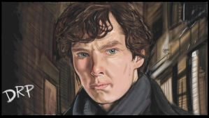 Benedict Cumberbatch As Sherlock by davidpustansky