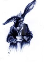 March Hare by BluebellArt33