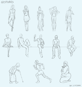 Gestures by shevans