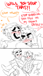 marvin with pat and pau! by smollereii