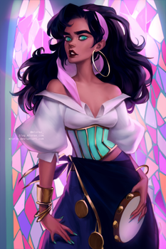 Esmeralda by mioree-art