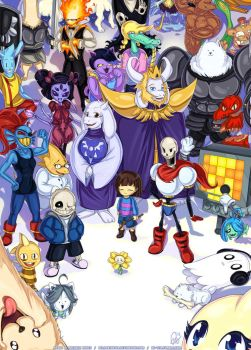 The World of UNDERTALE by Hellknight10