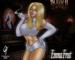 Emma Frost by Cahnartist