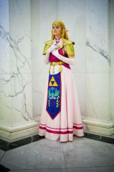 Princess Zelda - Ocarina of Time Cosplay by Darth-Sunshine