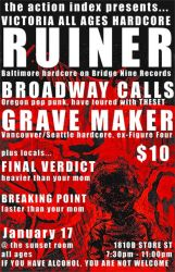 poster: ruiner, broadway calls by picklehammer