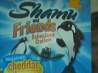 Shamu Crackers?! Since when!? by Dolphingurl21stuff