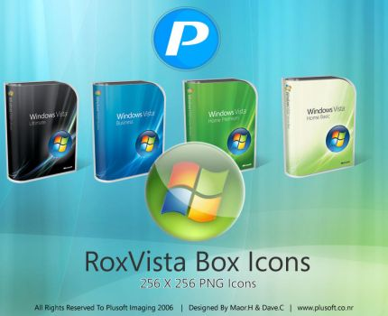 RoxVista Box Icons by guistyles