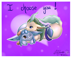 I choose you! by MaeMusicMelody