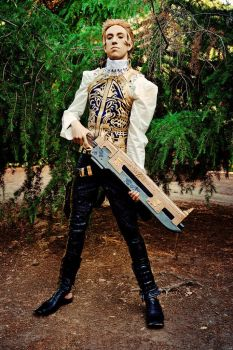 Race the wind: Balthier cosplay by Detailed-Illusion
