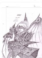 Dart of Legend of Dragoon by 2Unkown2Know