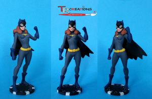 My custom Batgirl figure by zelu1984