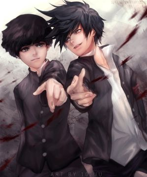 Bros (Mob Psycho 100) by 10Juu
