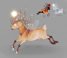 Forest Prince [AUCTION - CLOSED] by hireath-and-hound