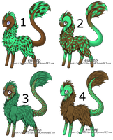 Mint Chocolate Chips Leureep Adopts 1 left by aerti-doll
