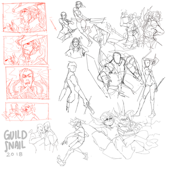 sketchdump0013 by guild-snail