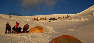 Alpamayo Col Camp by MikeLell