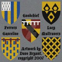 Heraldic achievements II by Catspaw-DTP-Services
