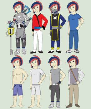 Starkey Outfits by General5