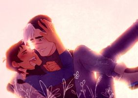 [VOLTRON] Shance - My whole world by Kethereal