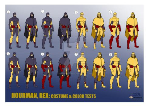 Young Justice Character Designs 7 hourman Rex
