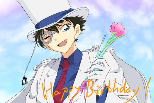 Kaito`s birthday in 2012 by FinoLee
