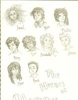 Heroes of Olympus by Painter-Gal77