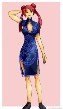 Chinese Dress by usualday