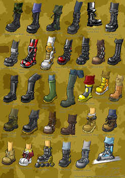 Boots Reference Sheet by RadenWA