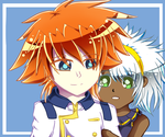 Beyblade - Brooklyn and Zeus by PinkLoveStar2674