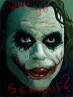 The Joker- Heath Ledger by Dinamit92