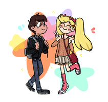 Star and Marco by popinat