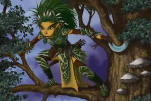 Pathfinder - Lini ini Tree by FilKearney