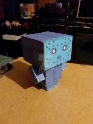Retro Jason Voorhees CubeeCraft by SuperVegeta71290