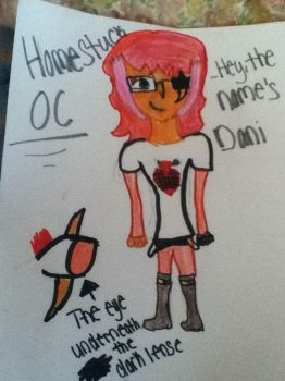 My Homestuck OC (Better version) by daughterofathena099